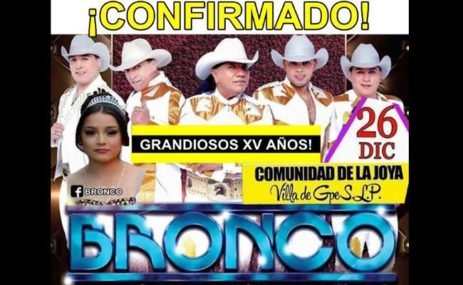 ¡Mejor que en el Vive Latino! Bronco confirma asistencia a los XV de Rubí