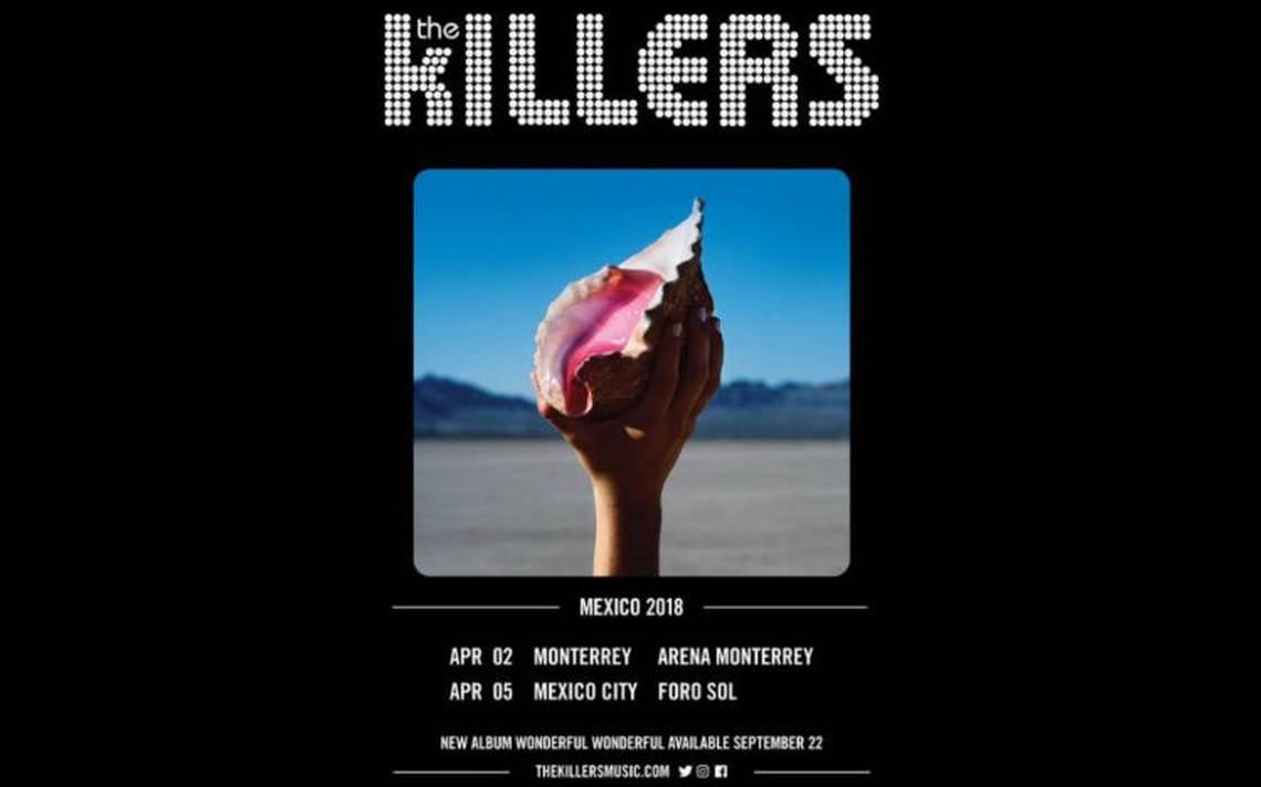 The Killers regresa al Foro Sol en abril de 2018 con nuevo disco