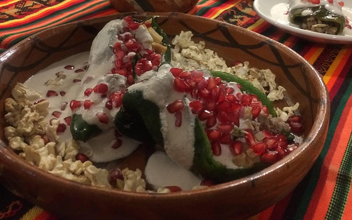 El chile en nogada, consentido de los mexicanos