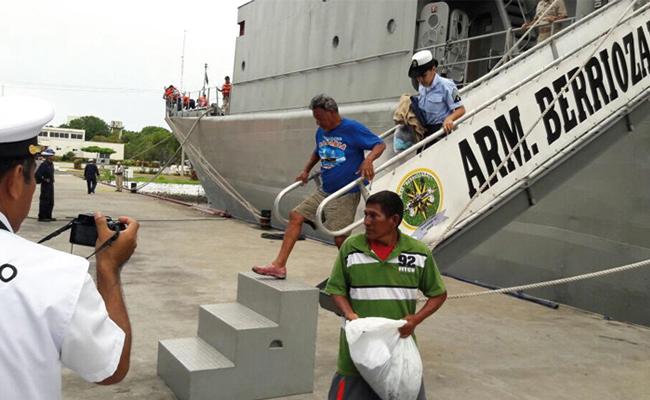 Rescatan a dos náufragos en Chiapas
