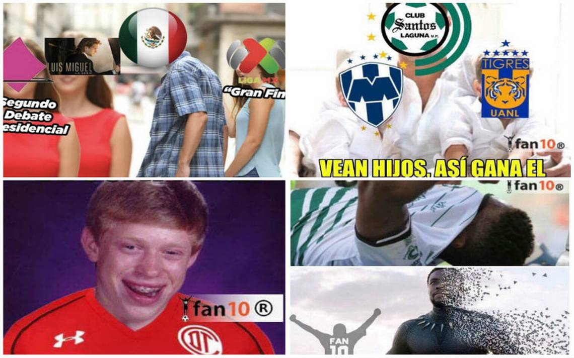 Los memes no tienen piedad del Toluca