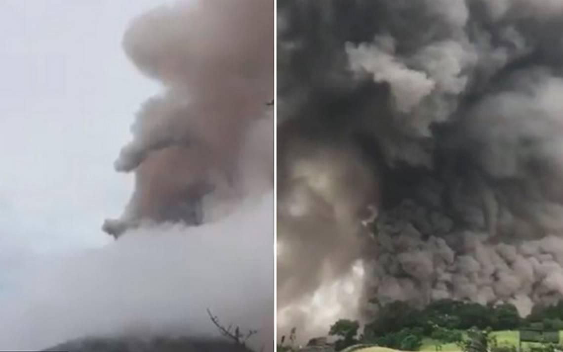 Esto es lo que sabemos de la erupción del volcán de Fuego en Guatemala