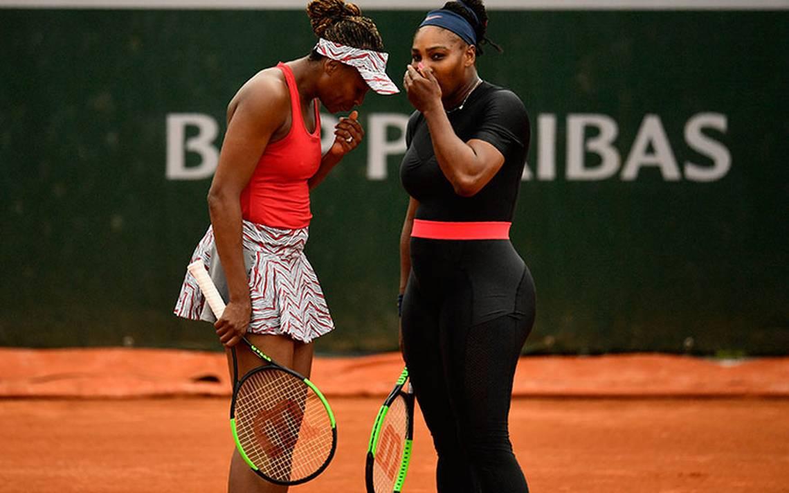 Las Williams, eliminadas en dobles en Roland Garros