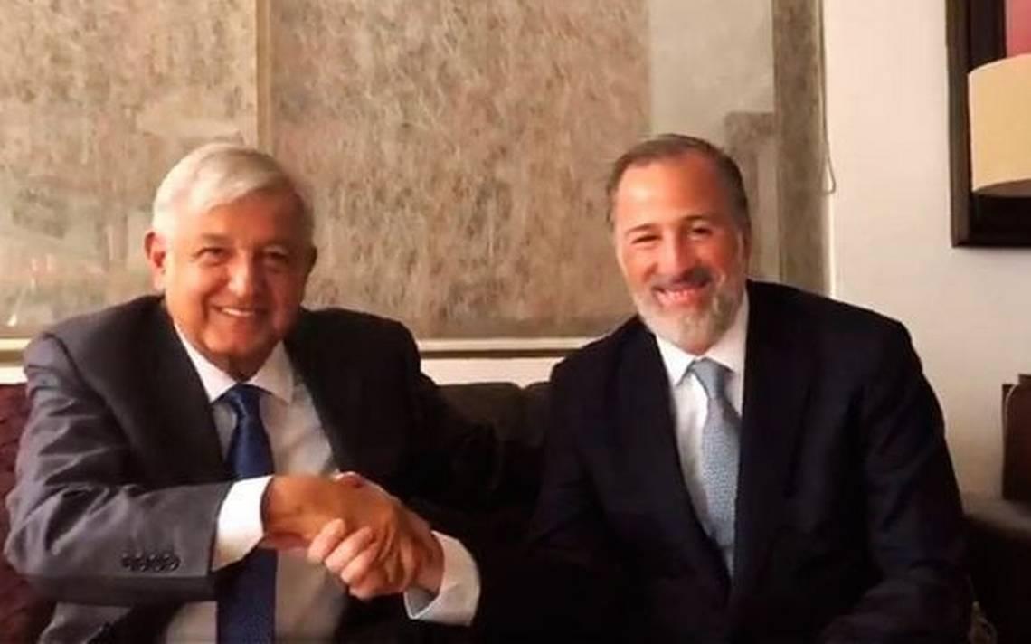 Senadores del PRI, PAN y PT-Morena aprueban encuentro de AMLO con Meade