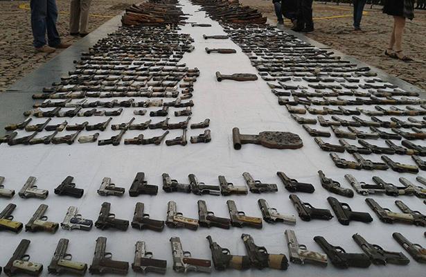 Temen arribo de armas de contrabando a Tijuana