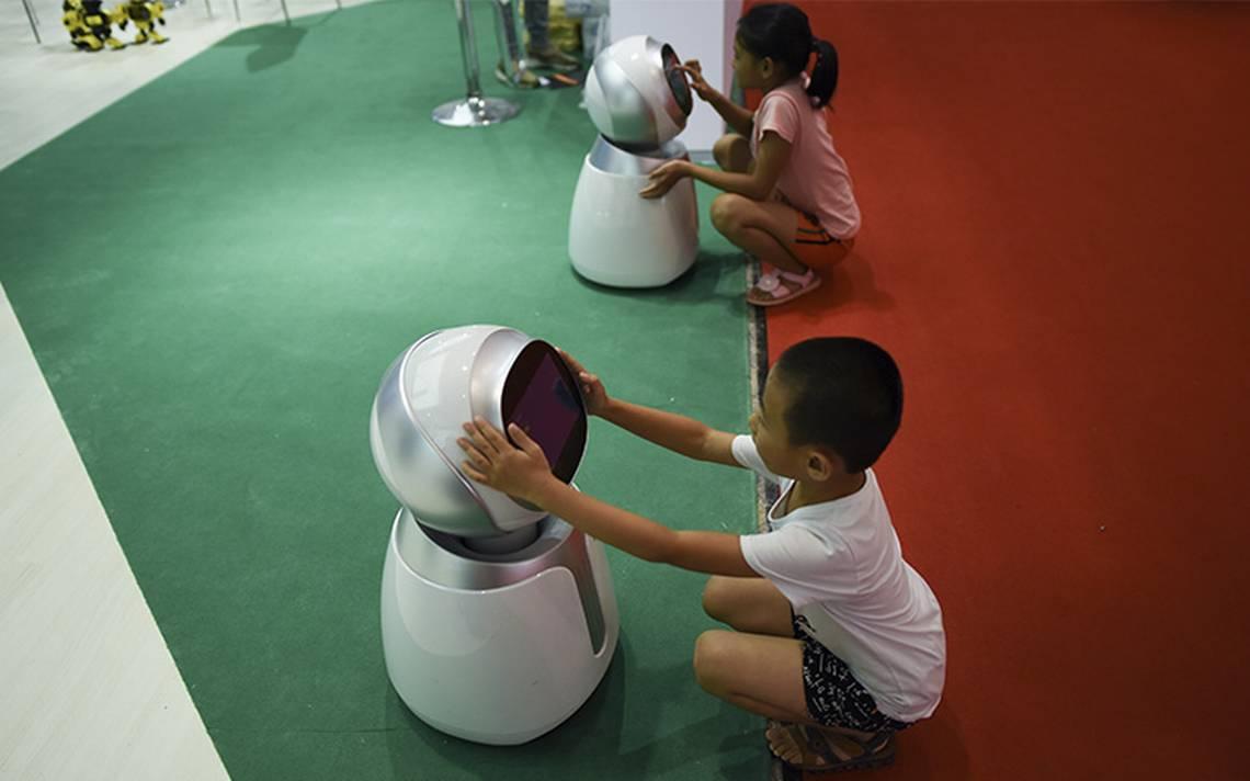 China da la pelea por los robots