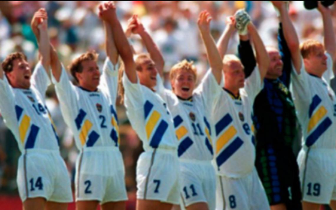 La maldición de la selección de Suecia terminó