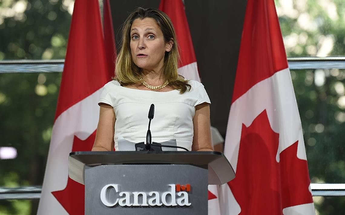 No se firmará acuerdo a menos que sea ventajoso para canadienses: Freeland