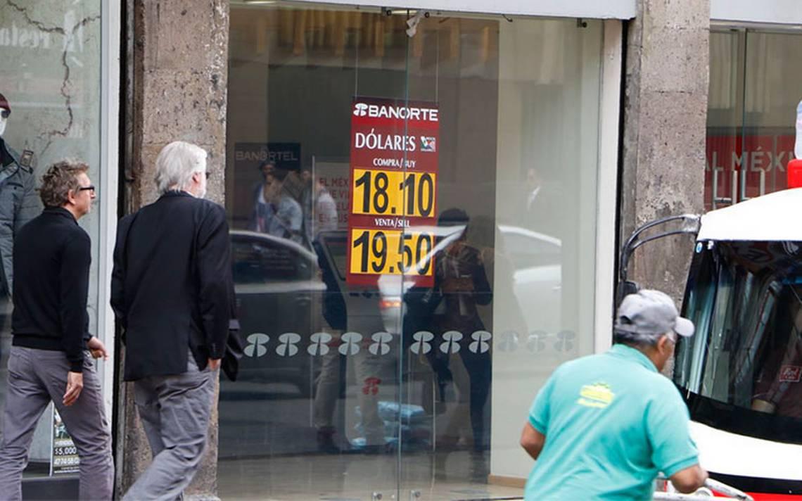 Peso cae por incertidumbre del TLCAN; su peor nivel en más de 5 meses