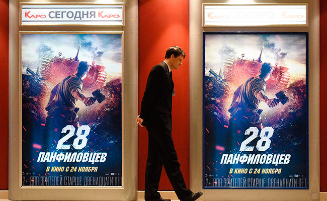 Éxito de taquilla, película sobre sacrificio de soldados  rusos frente a los nazis