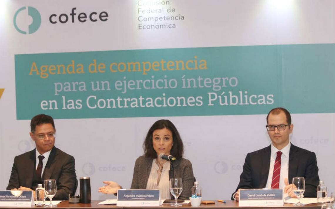 Cofece presenta acciones para evitar simulación de competencia y actos de corrupción