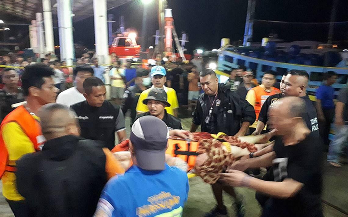Al menos un muerto y 48 desaparecidos por dos naufragios en Tailandia