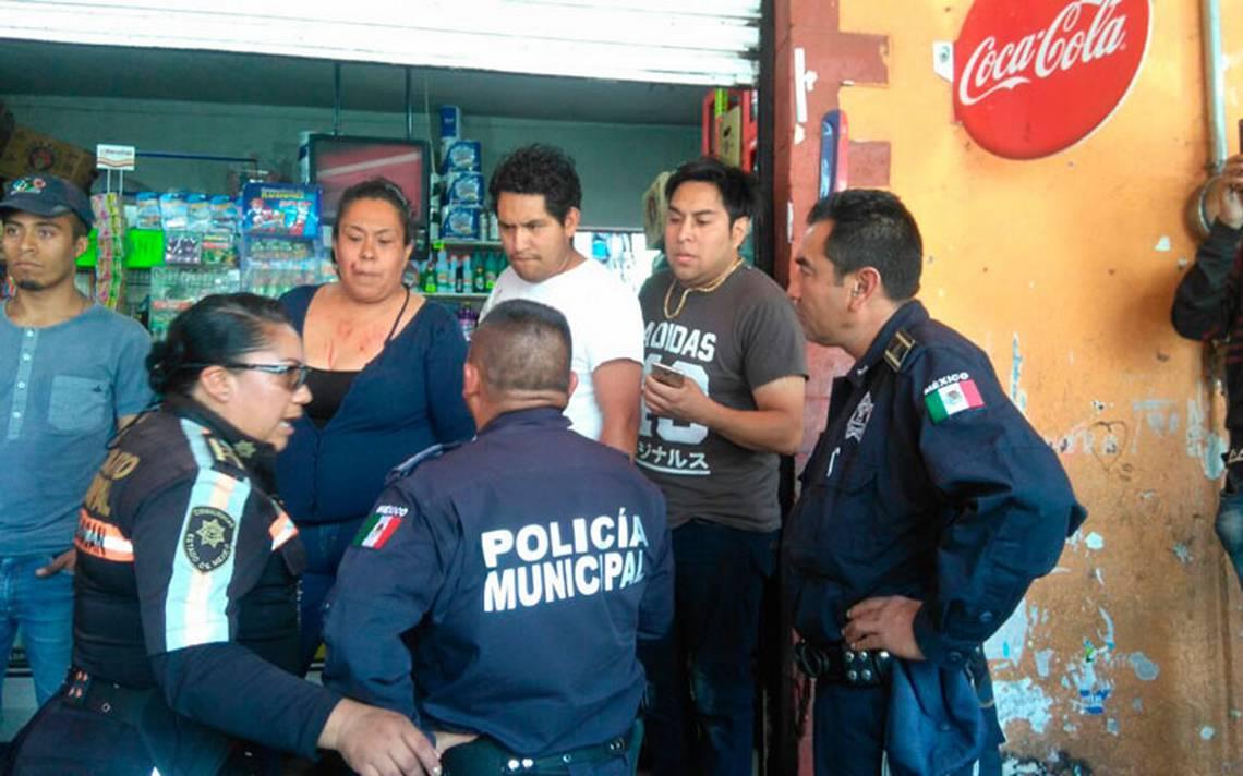 Seguidores de Morena golpean a priistas en Chimalhuacán