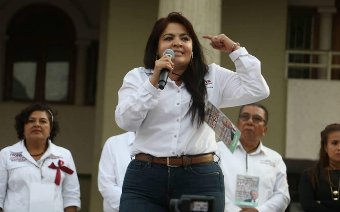 Néstora Salgado cumple con requisito de nacionalidad, señala INE