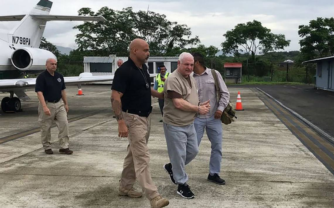 Expresidente Martinelli en prisión tras ser extraditado a Panamá