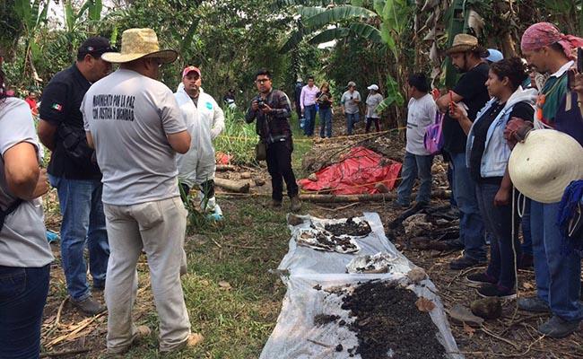 Fiscalía se adjudica hallazgo de 250 cráneos en fosas de Veracruz