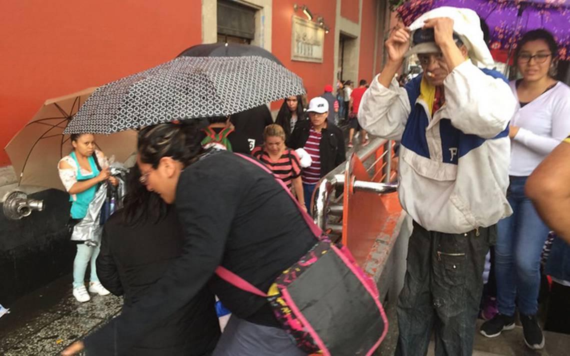 Cielo nublado y posible caA�da de granizo se prevA� en la Ciudad de MA�xico