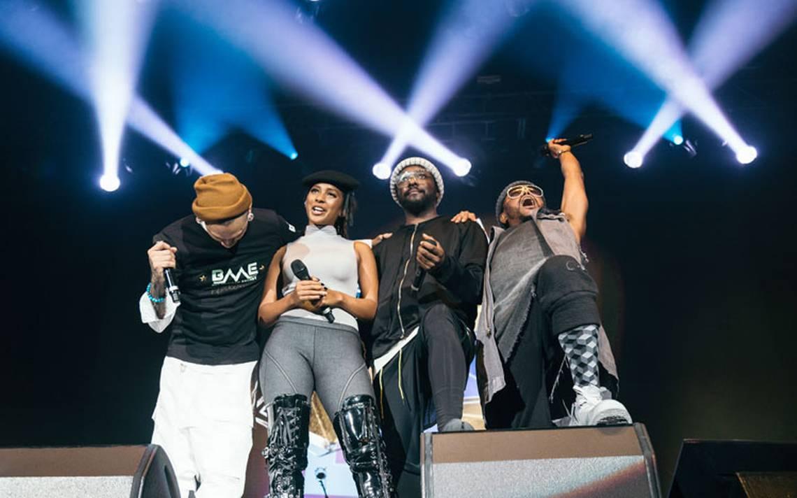 The Black Eyed Peas causa furor en su regreso a México