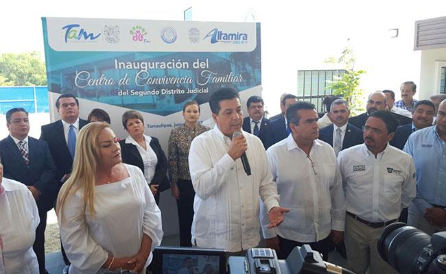 Federación debe revisar estrategia de seguridad, dice gobernador de Tamaulipas