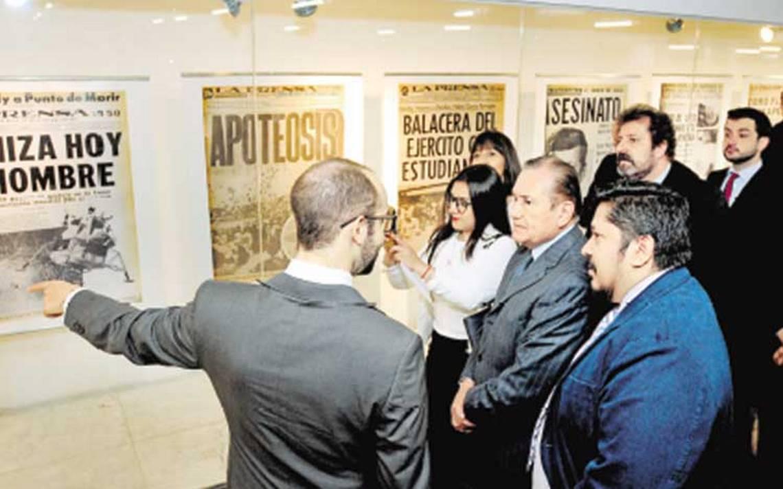 La Prensa expone lo mejor de 90 años de vida en Metro Pino Suárez