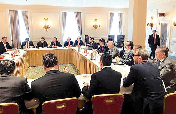 México y Canadá abogan por renegociación trilateral del TLCAN