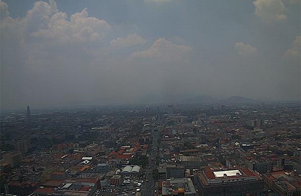 Valle de México registra calidad regular del aire