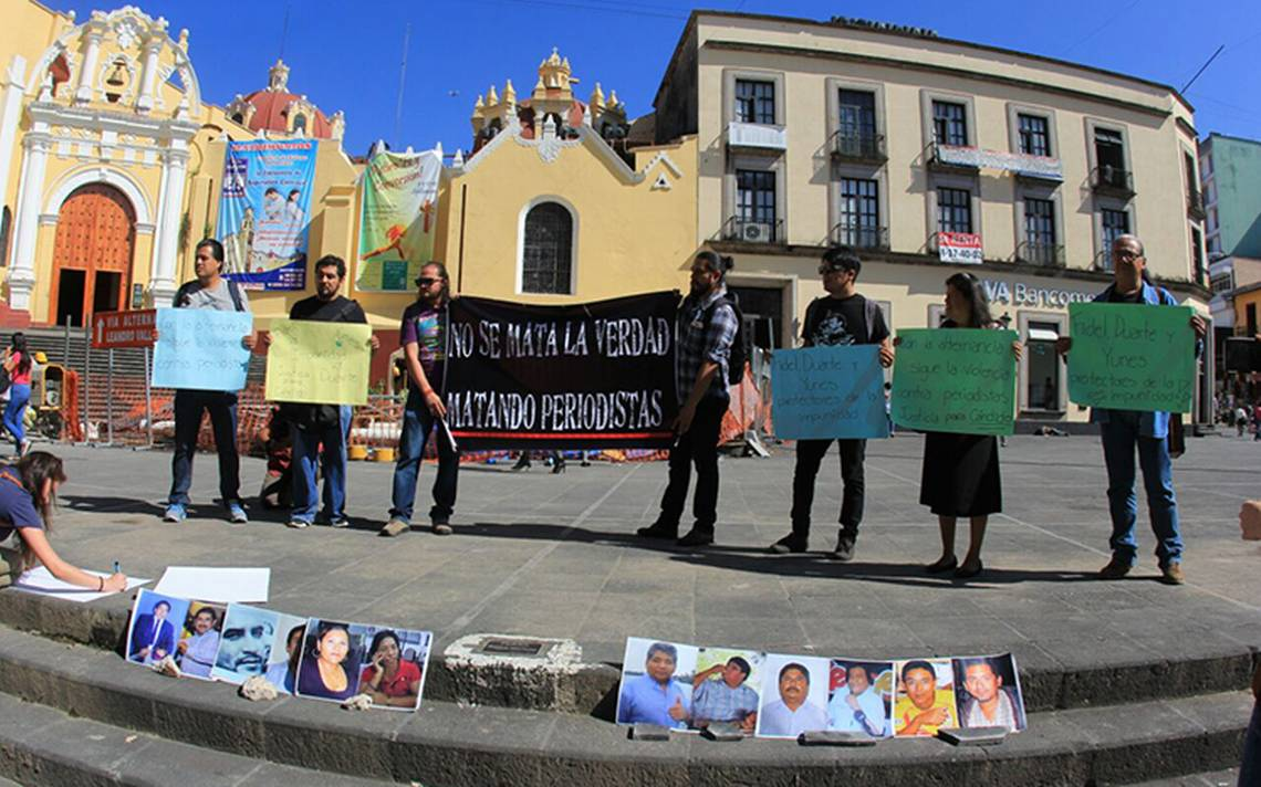 Comunicadores piden justicia para reportero