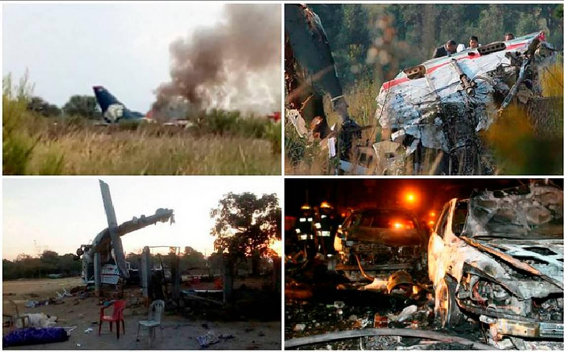 Estos son los trágicos accidentes aéreos que han conmocionado a México