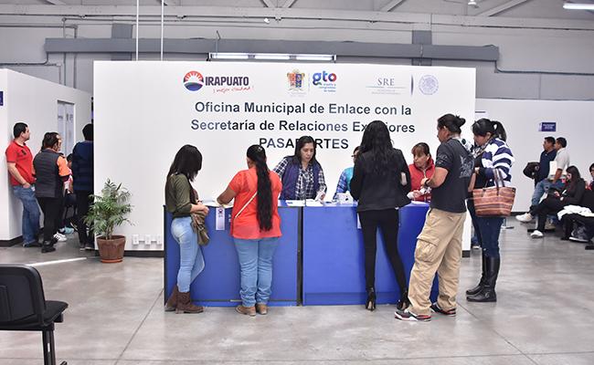 Aumenta 200% demanda de pasaportes en Irapuato