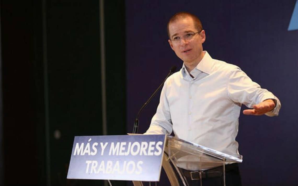 Ricardo Anaya promete salario mA�nimo de 190 pesos