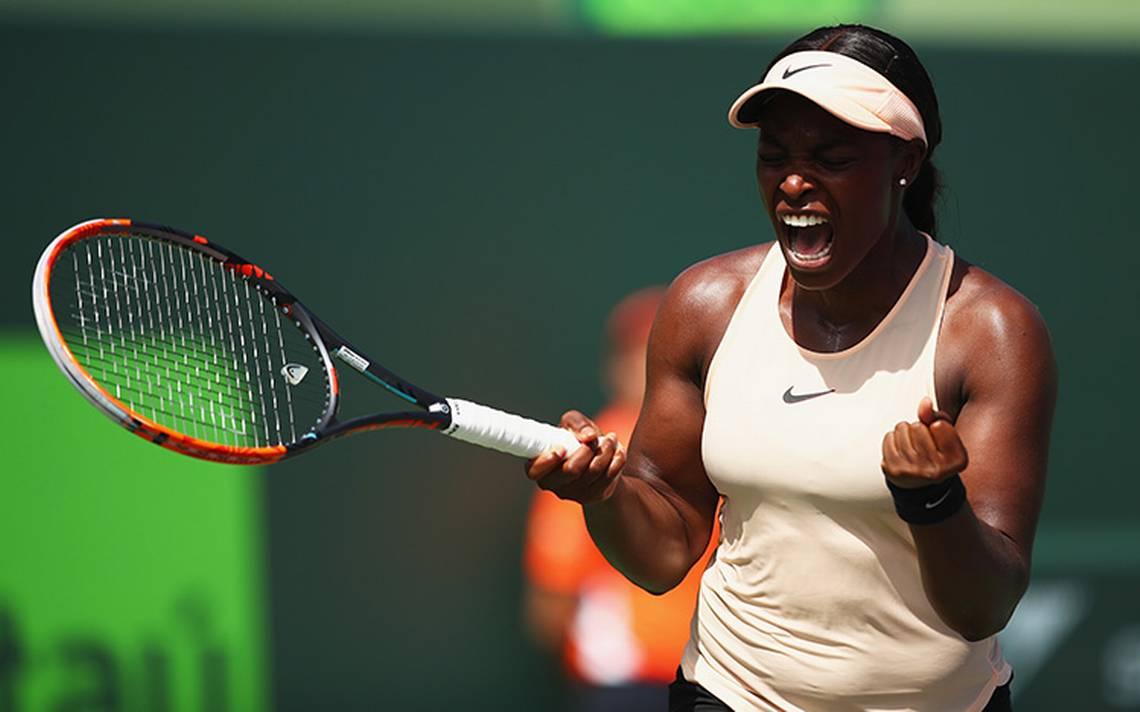 La tenista Sloan stephens la primera finalista del Abierto de Miami