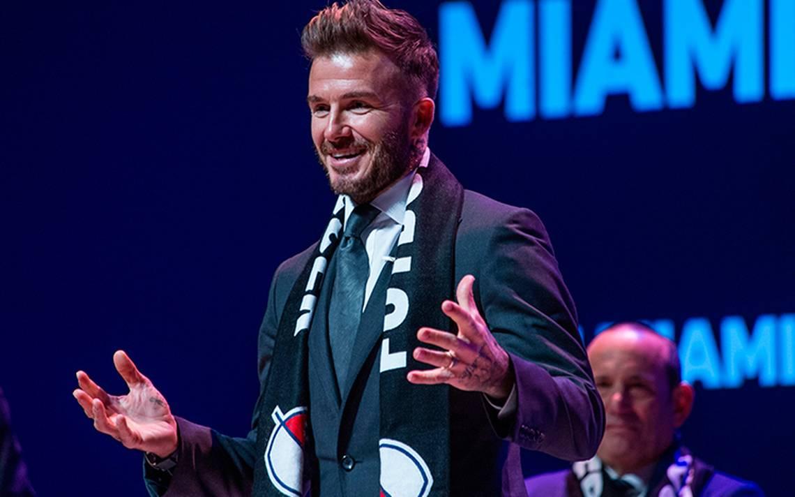 ¡Por fin! David Beckham tiene su equipo de futbol en Miami para competir en la MLS