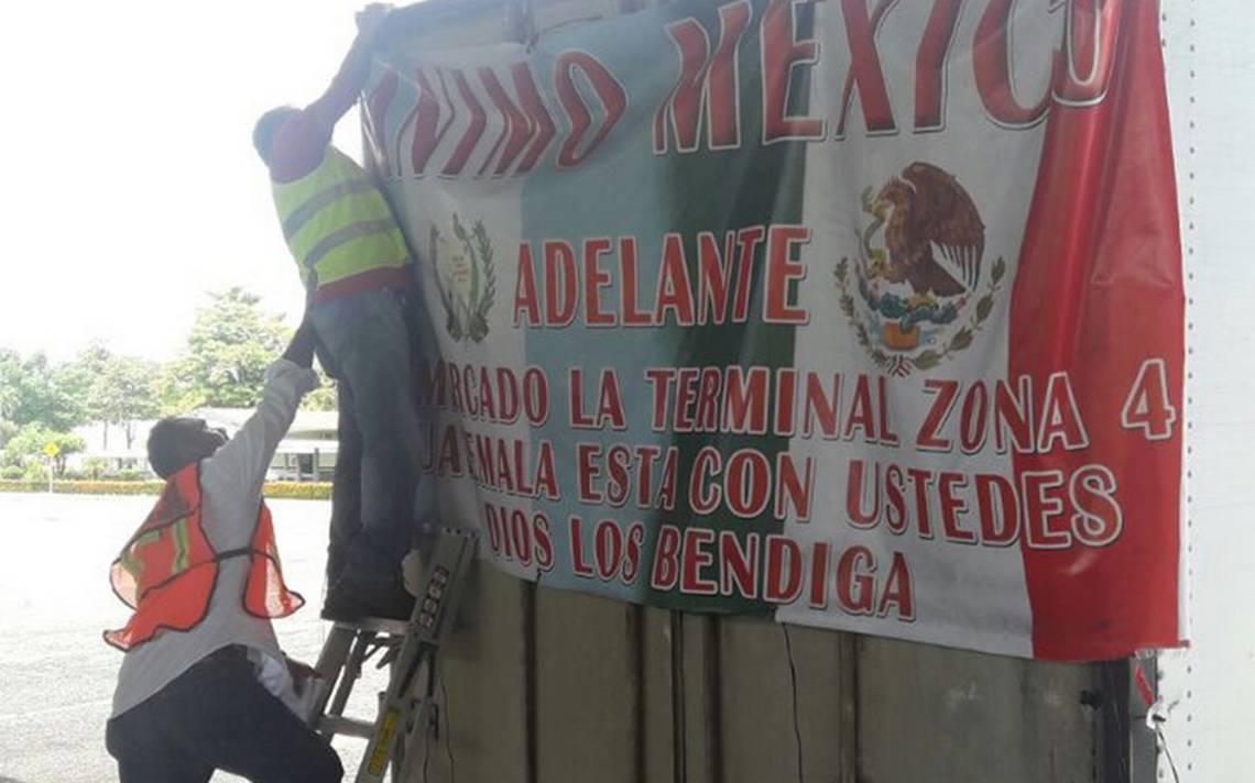 Recaba Guatemala víveres para México
