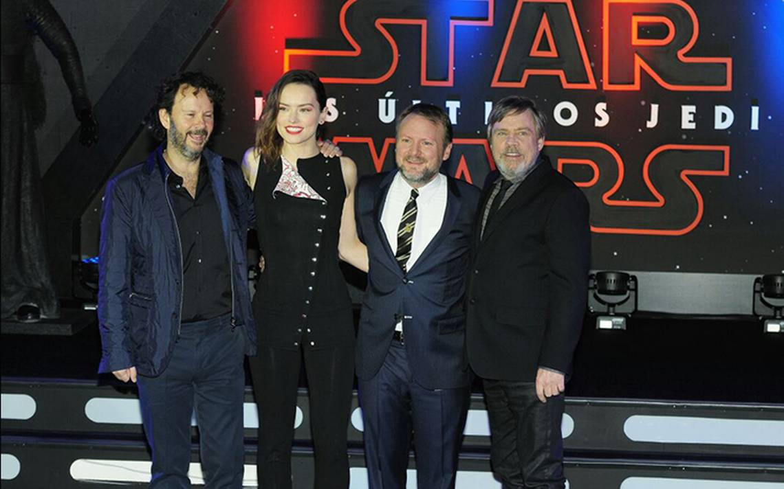 ¡De otra galaxia! Reparto de 'Star Wars: Los últimos Jedi' llega a México