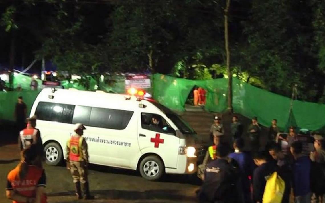 En marcha segunda fase de rescate de niños atrapados en una cueva de Tailandia