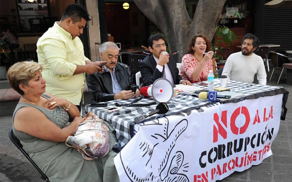 Sin rastro, recursos de parquímetros de las colonias Cuauhtémoc y Juárez