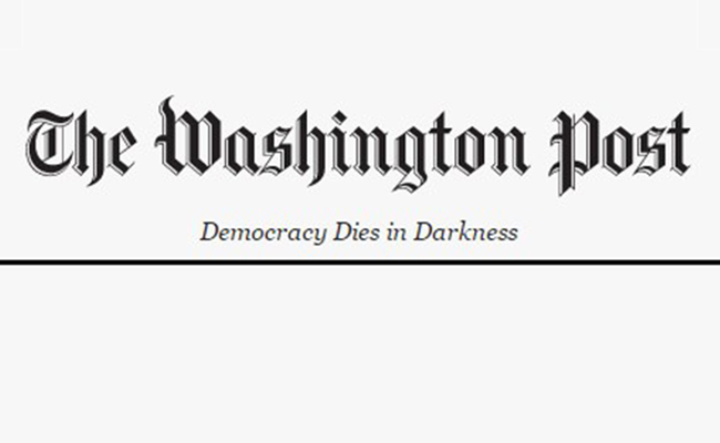 The Washington Post revela nuevo slogan contra era Trump