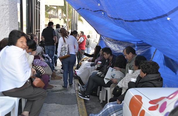 Inicia la semana con manifestaciones en Morelia