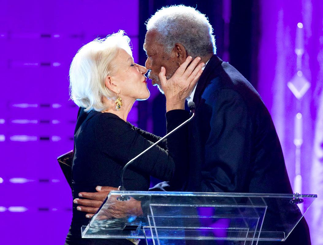Morgan Freeman: Que el mundo sepa que estoy enamorado de Helen