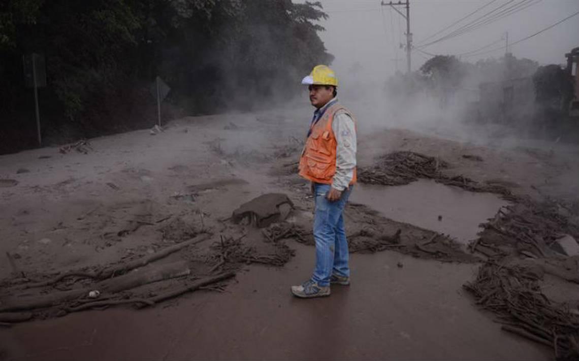Erupción del Volcán de Fuego en Guatemala sin afectación a Oaxaca