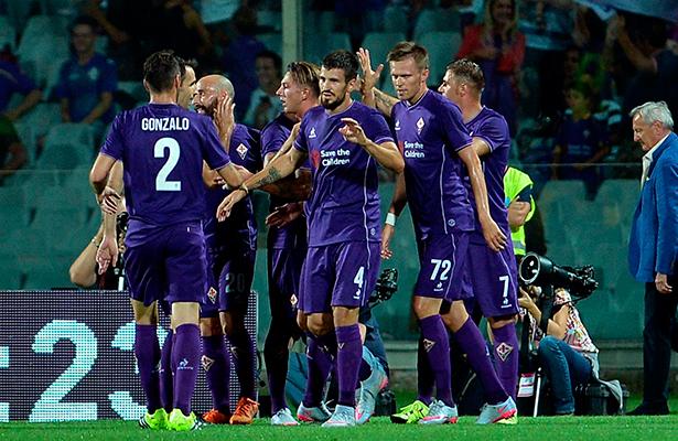 Fiorentina a sellar su pase en la Europa League