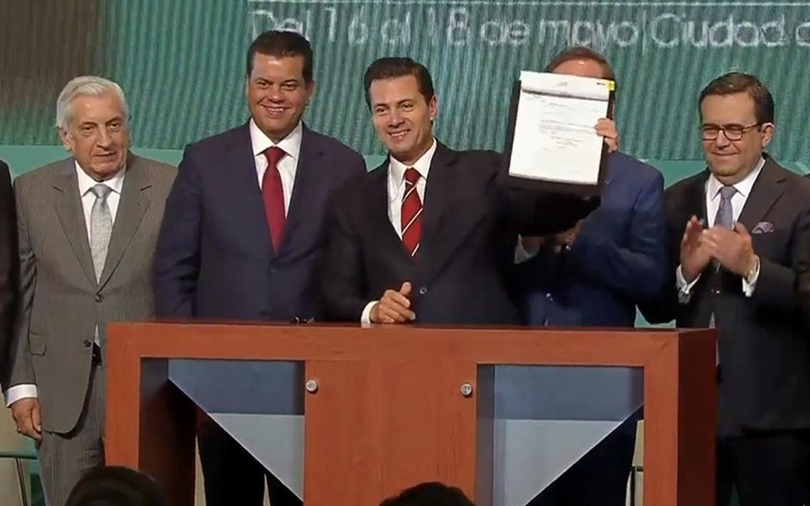 Impunidad y corrupción no desaparecen con buenos deseos: Peña Nieto