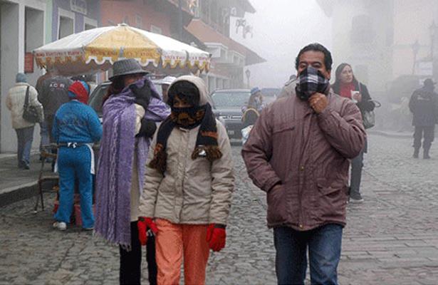 Frente frío número 22 mantendrá bajas temperaturas