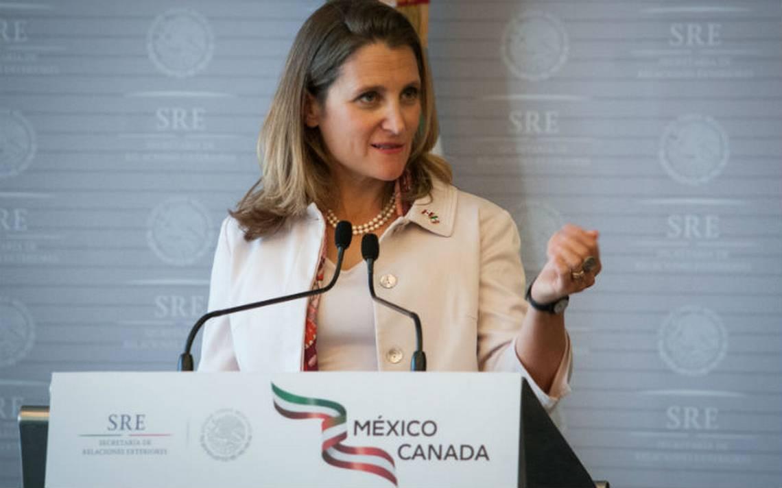 Canadá se niega a negociar TLCAN mediante tuits