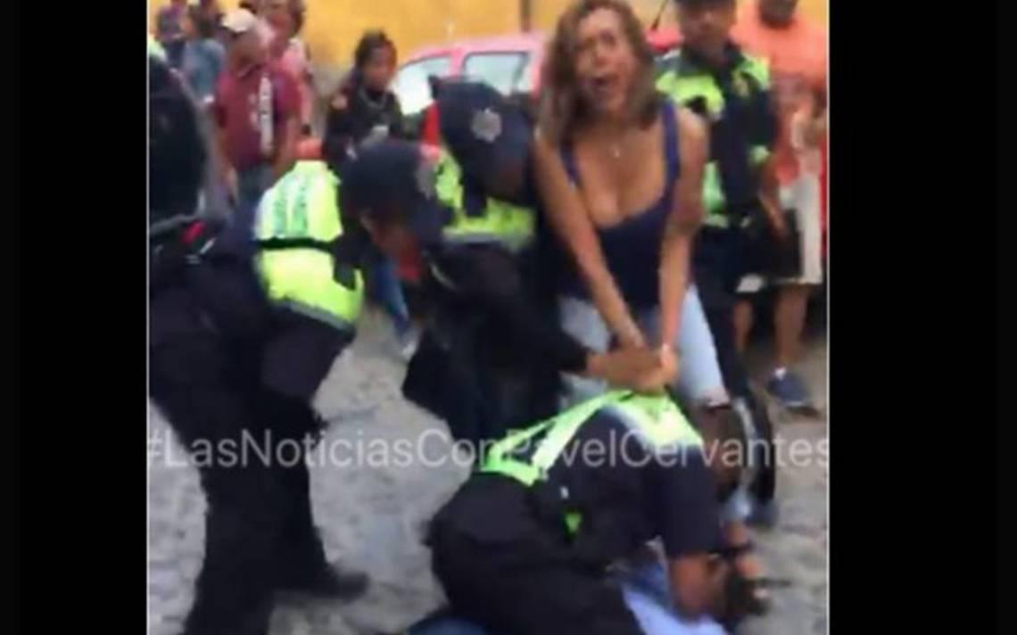 Así fue el zafarrancho donde detuvieron a Fernanda Familiar en San Miguel de Allende