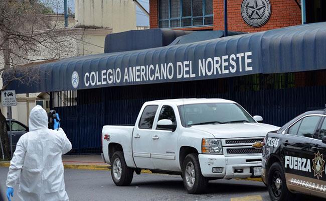 Dan de alta a menor lesionada en colegio de Monterrey
