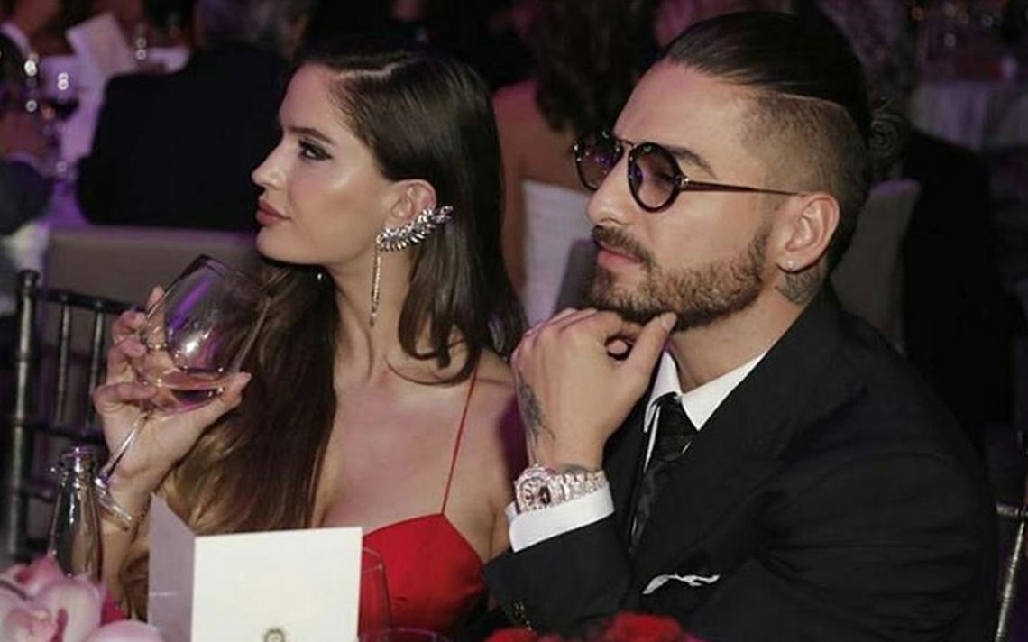 ¿Quién es la novia de Maluma? conoce a Natalia, la modelo de 'Felices los 4'