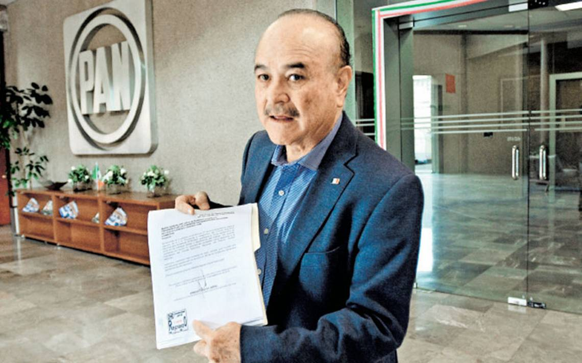 Cuatro buscan la dirigencia del PAN; deben recolectar 28 mil 33 firmas