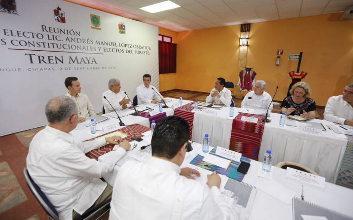 Recursos para el Tren Maya no serán del Fondo de Promoción Turística, aclara AMLO