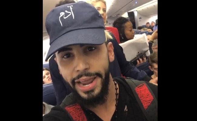 Expulsan a hombre de avión por supuestamente hablar árabe